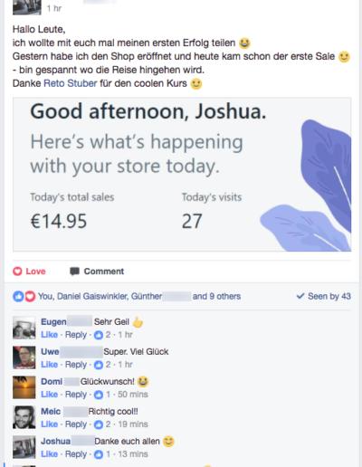 Die eCom-Formel - mit Shopify Shop ein Neben-Einkommen aufbauen